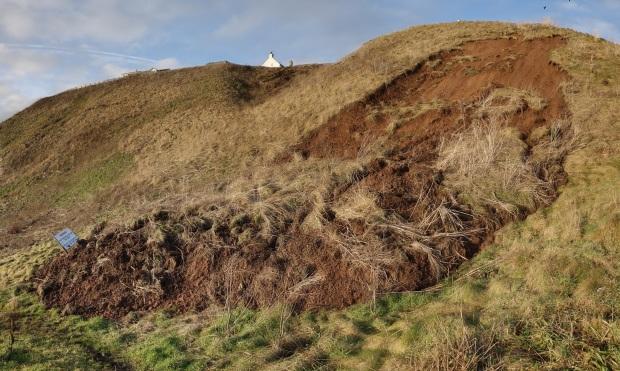 Braehead Landslip