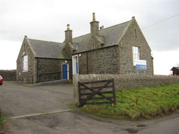 Originally built as the village school.