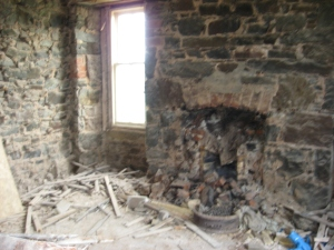 The old sitting room will become a meeting room.