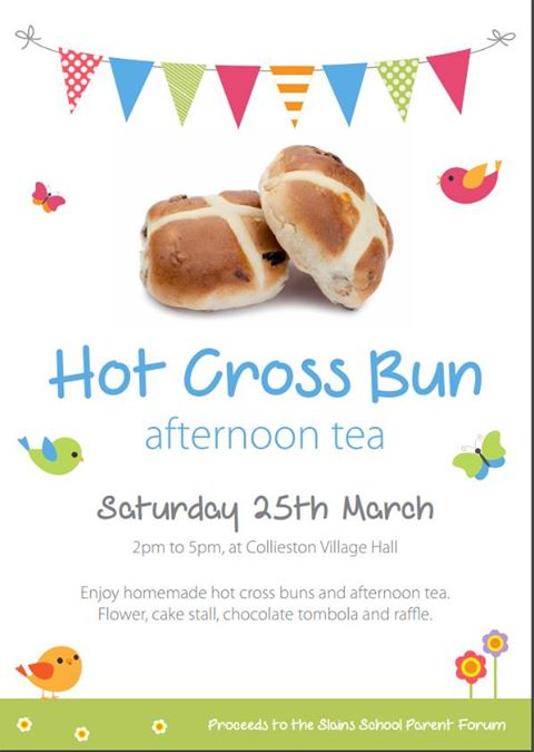 Hot Cross Buns Tea