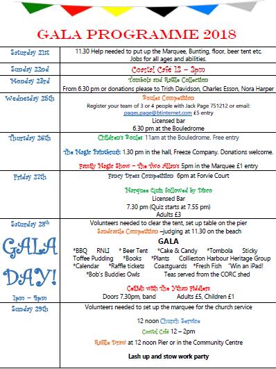 Gala Programme