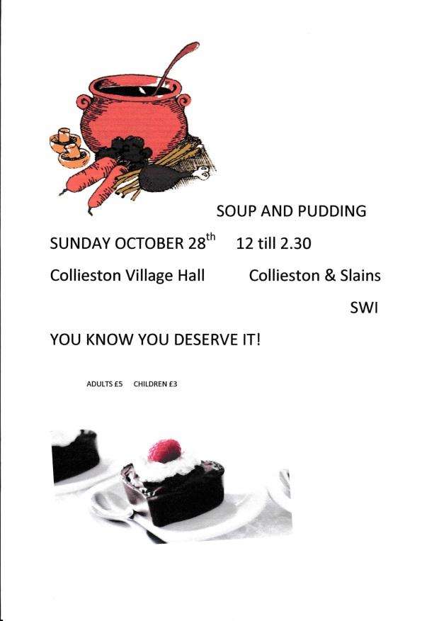 WRI Soup and Pudding