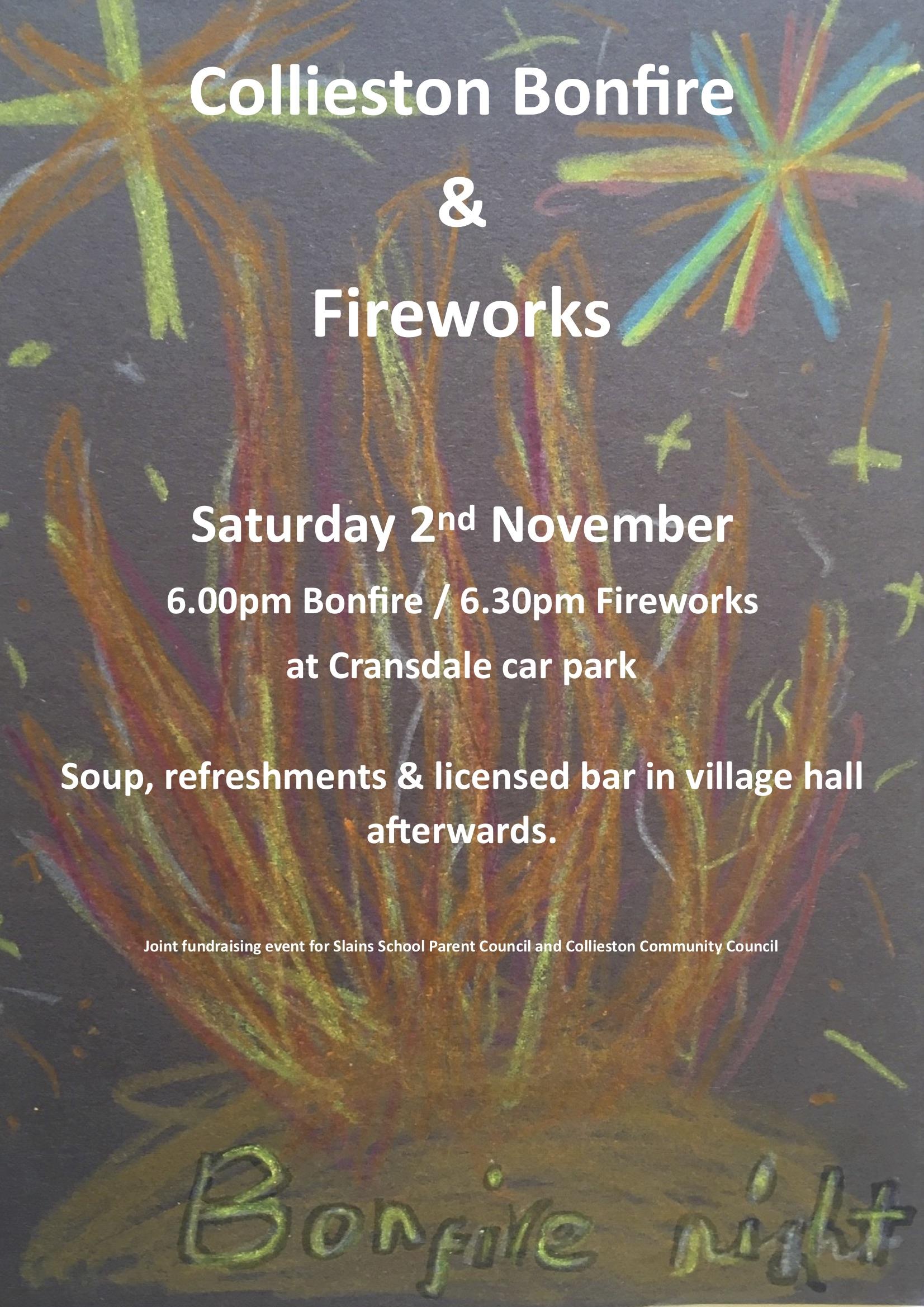 Bonfire Night Poster